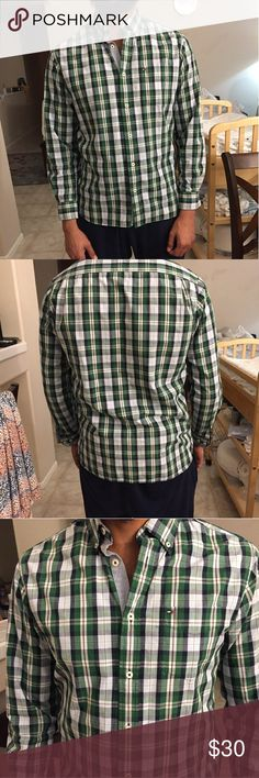 Handsome Shirt Nice Shirt  Condition like new! I love it so much, but its so small now for my husband so we are selling. Been worn only couple times Classic fit Tommy Hilfiger Shirts Casual Button Down Shirts