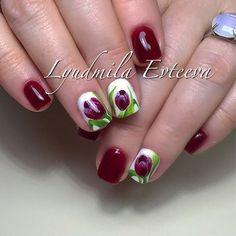 Tulip Nails, lusi_nailsaratov