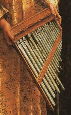 TICMUSart: St. Cecilia - Rafael Sanzio (1516) (detalle) (I.M.)