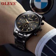 OLEVS Big Face Men Quartz Watches Big Face, Face Men, Bracelet Watch, Quartz Watches, Bracelets, Accessories, Bracelet, Arm Bracelets, Bangle