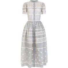 Temperley London Lizette Organdy Dress ❤ liked on Polyvore (see more temperley london dresses)