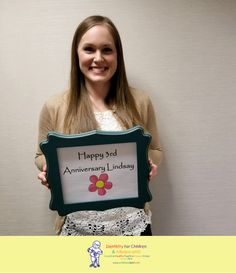 Happy 3 year anniversary Lindsay! #dfcadent #thankyou #dentistry #3yearanniversary #ourteamrocks #workanniversary