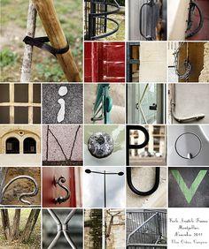 Alphabet urbain - urban alphabet Elise Ortiou Campion