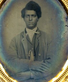 Tintype of an unknown young man, c. 1850. Submitted by Sarah Nehama