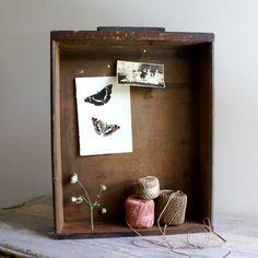 shelf shadow box