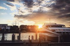 Can finally breathe and get some edits done now that uni stress has died down! Here is an iPhone shot and edit taken at Darling Harbour yesterday so beautiful catching the sun setting in between buildings and boats!  #iphonegraphy #iphone #iphone6 #iphoneedit #sunset #sydneyharbourbridge #sydneyharbour #darlingharbour #sydney #sydneyaustralia #dockside #clouds #boats #ship #photography #photograph #sydneyblogger #iphoneonly #vsco #travel #love by deesariphotos http://ift.tt/1NRMbNv