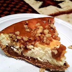 ~ Walnut Caramel Cheesecake ~