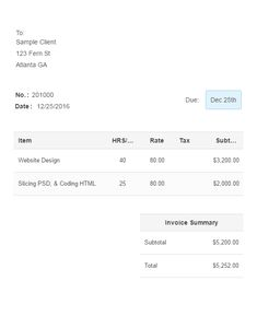 Pdf Invoices Invoicea Is A Professional Invoice Built For Freelancerscreate .