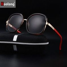 027dc399d372 Baolang Brand Oversized Cat Eye Sunglasses Women Glasses Round Mirror Frame  Flat Mirror Sun Woman Fashion