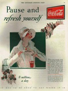 1920's cola add--L'esprit swing's