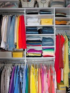 closet organization idea - Home and Garden Design Idea's