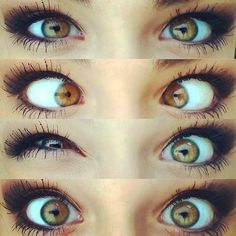 Andrea Russet just the eye color change pretty sure 👌🙌🙌 Gorgeous Eyes, Pretty Eyes, Cool Eyes, Amazing Eyes, Braces Colors, Andrea Russett, Beauty Makeup, Hair Beauty, Blue Eye Makeup