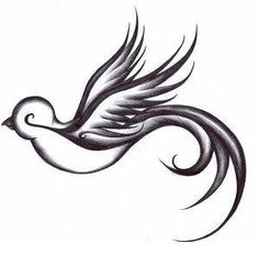 Swallow Temporary tattoo by WildLifeDream on Etsy