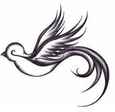 Golondrina tatuaje temporal por WildLifeDream en Etsy