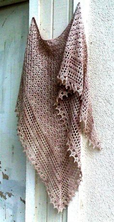 Gorgeous, unique, delicate and feminine crochet shawl