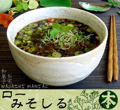 Miso Suppe mit Algen, vegan und roh