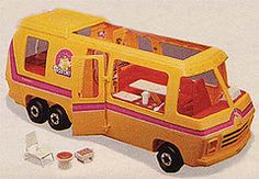 The Barbie RV ...good times - I used to have this and JUST gave it away a couple of years ago!