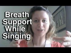 Breath Support while Singing / Vocal Technique / Breathing Technique for...