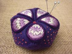 Pretty little purple cushion