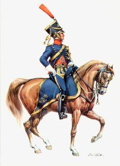 Westphalia; Horse Artillery, Officer c.1812(?)