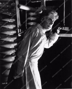 photo Ernest Thesiger horror film The Bride of Frankenstein 2069-36