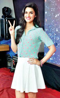 Kriti Sanon at a college festival in Mumbai. #Bollywood #Fashion #Style #Beauty #Hot