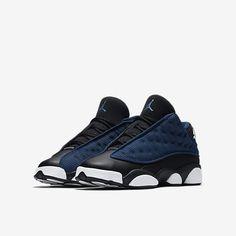 Air Jordan 13 Retro Low - Brave Blue/Black/University Blue/Metallic Silver Men's Shoes, Nike Shoes, Sneakers Nike, Air Jordan 13 Low, University Blue, Jordan Shoes, Sport Outfits, Air Jordans, High Top Sneakers