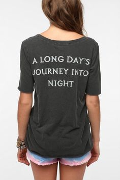 Urban Outfitters - Truly Madly Deeply Long Journey Boyfriend Tee