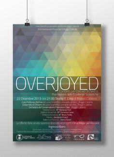OVERJOYED - Poster for Music Concert on Behance