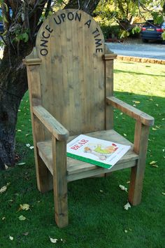 book chair on pinterest outdoor classroom chairs and wooden stools