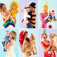 Check out these 6 costumes for you and your baby to rock this Halloween.