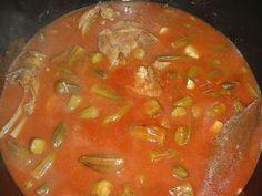 Bamia or Okra Stew