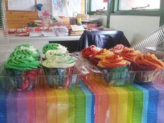 Avengers cupcakes 2014