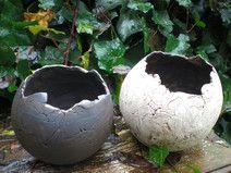 Keramik Pflanzkugel Set für Sukkulenten