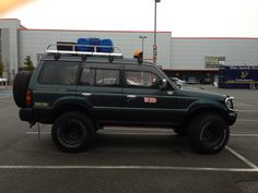 Mitsubishi Pajero 1995 modified