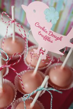 Baby Shower Goodies :. via Kara's Party Ideas