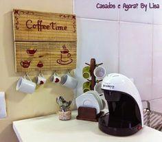Decoração do Cantinho do Café na Cozinha!::