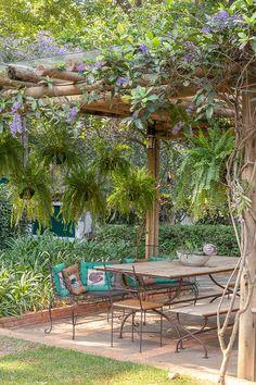 Pergola With Roof, Outdoor Pergola, Backyard Pergola, Outdoor Rooms, Backyard Landscaping, Outdoor Gardens, Outdoor Living, Outdoor Decor, Backyard Patio Designs