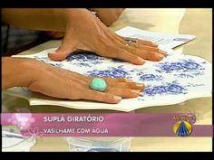 Suplá giratóriol | Artesanato do SABOR DE VIDA - YouTube
