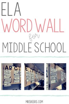 Here are a few key components of my grade ELA classroom. From word walls to student workspaces, I try to structure my classroom to be an inviting and engaging space for learning. 7th Grade Classroom, 7th Grade Ela, Middle School Classroom, Classroom Setting, Classroom Setup, Classroom Organization, High School, Classroom Design, Classroom Management