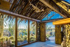 For sale: $4,500,000. Nestled amongst 225 pristine acres of the Joshua Tree desert sits Mojave Rock Ranch.  Panoramic views envelop this tranquil hideaway, perched next to a gold mine from yesteryear. Expertly designed desert landscape flows throughout the property, complimenting the organic architecture. Modern comforts await at this reimagined 1950's era homestead cabin that has undergone a 22 year rebirth. The property offers views from every room, covered outdoor living space, heated ...