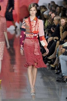 Tory Burch spring 2012 Collection | tory burch spring 2012 #fashion #runway