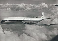 East African Airways Comet 4