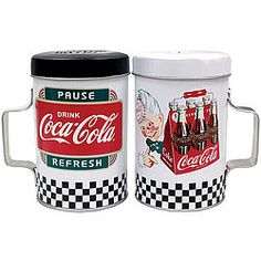 This Coca Cola Drink Salt Amp Pepper Shakers By Coca Cola