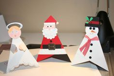 Christmas Pyramid card by figaro - Cards and Paper Crafts at Splitcoaststampers