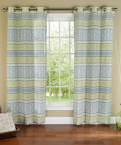 Another great find on #zulily! Sage Padova Curtain Panel - Set of Two #zulilyfinds