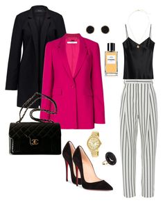 """""""Untitled #8"""" by stylisticbehavior ❤ liked on Polyvore featuring TIBI, Galvan, Christian Louboutin, Vero Moda, Givenchy, Chanel, Humble Chic, Andrea Fohrman and Michael Kors"""