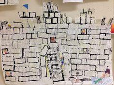 SJS Art Studio: Architecture: 2nd Grade Castles