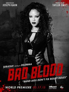 Taylor Swifts Bad Blood Music Video featuring Serayah. Please visit our website @ http://22taylorswift.com
