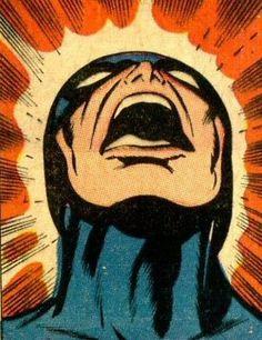Blackbolt...Screams!  -  Jack Kirby
